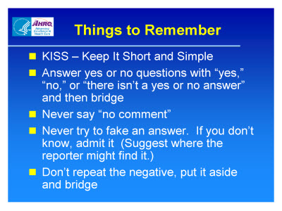 Slide 23. Things to Remember