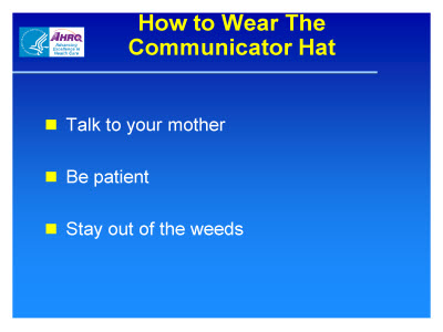 Slide 5. How to Wear The Communicator Hat