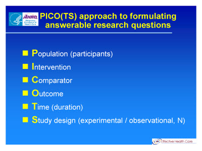 pico research paper examples
