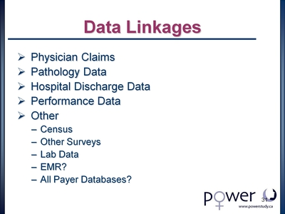Data Linkages