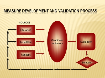 Measure Development and Validation Process