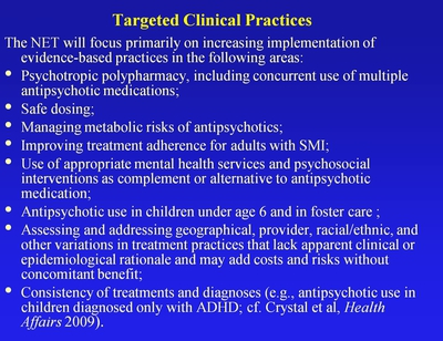 Targeted Clinical Practices