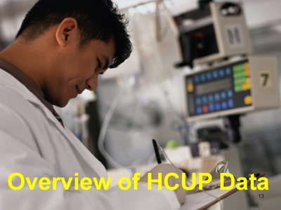 Overview of HCUP Data