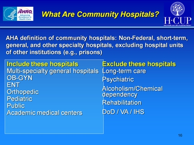 What Are Community Hospitals?