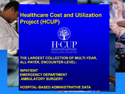 Healthcare Cost and Utilization Project (HCUP)