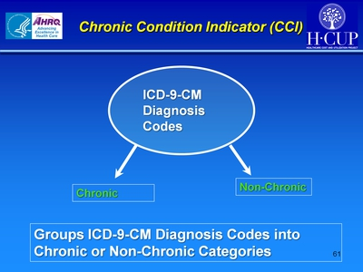 Chronic Condition Indicator (CCI)