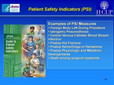 Patient Safety Indicators (PSI)