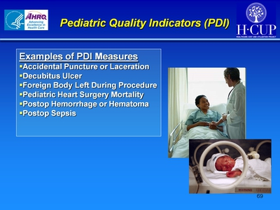 Pediatric Quality Indicators (PDI)