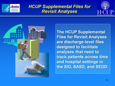 HCUP Supplemental Files for Revisit Analyses