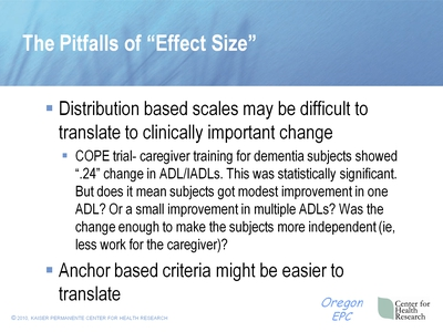 "The Pitfalls of ""Effect Size"""