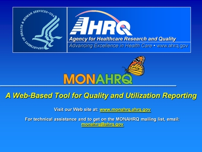 MONAHRQ: A Web-Based Tool for Quality and Utilization Reporting