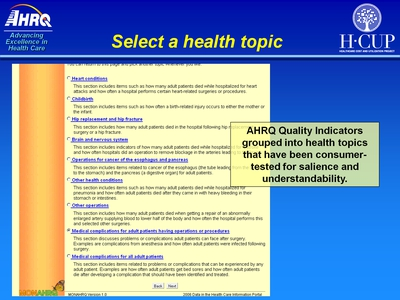 Select a health topic