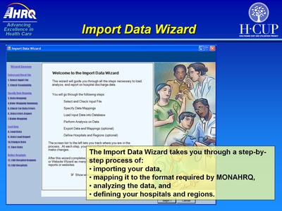 Import Data Wizard