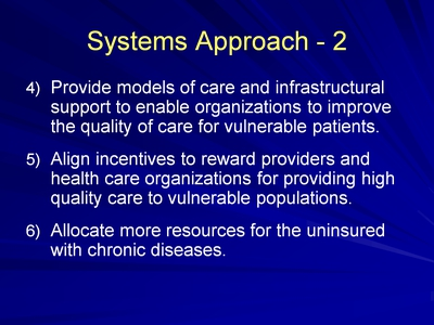 Slide 15. Systems Approach-2