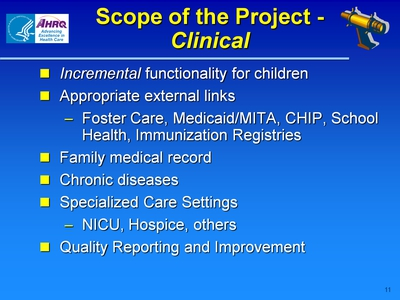 Scope of the Project-Clinical