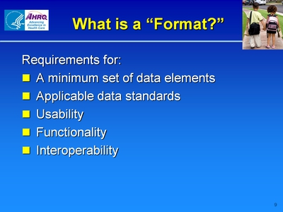 "What is a ""Format?"""