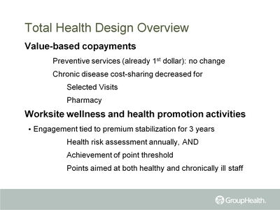Total Health Design Overview