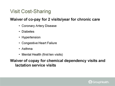 Visit Cost-Sharing