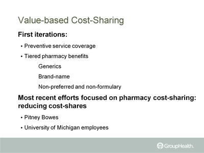 Value-based Cost-Sharing