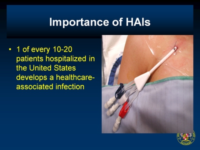 Importance of HAIs
