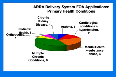 ARRA Delivery System FOA Applications: Primary Health Conditions