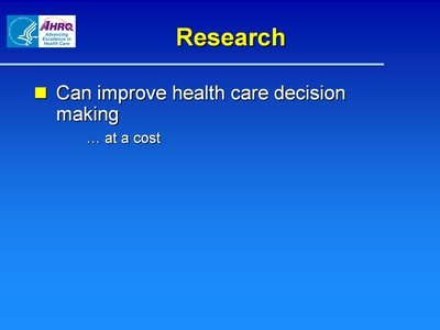 Slide 5. Research