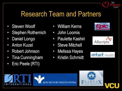 Research Team and Partners