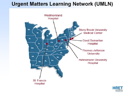 Urgent Matters Learning Network (UMLN)
