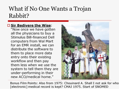 What if No One Wants a Trojan Rabbit?