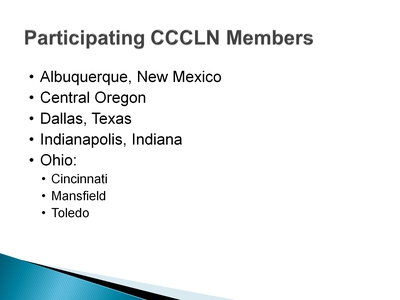 Participating CCCLN Members