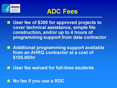 ADC Fees