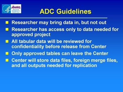 ADC Guidelines