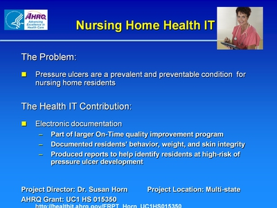 Nursing Home Health IT