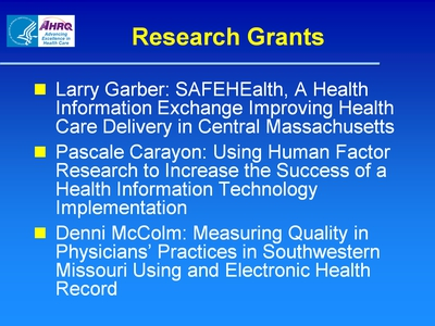 Slide 37. Research Grants