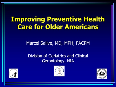 Improving Preventive Health Care for Older Americans