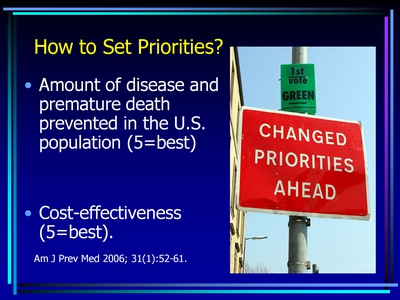 How to Set Priorities?