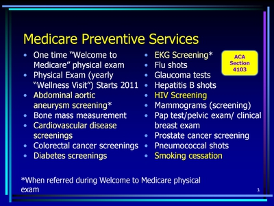 Improving Preventive Health Care for Older Americans (Text Version ...