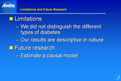 Limitations and Future Research