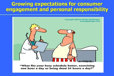Growing expectations for consumer engagement and personal responsibility
