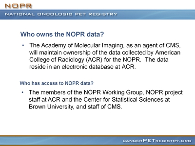 Slide 8. Questions About the NQPR Data