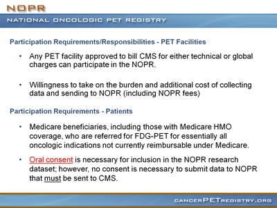 Slide 9. Participation Requirements/Responsibilities