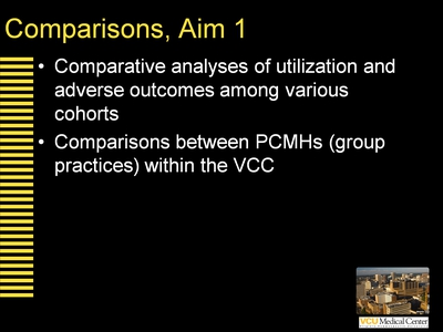 Comparisons, Aim 1