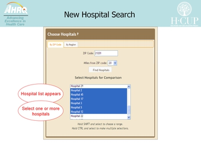 New Hospital Search