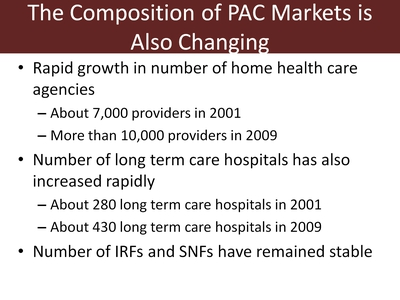 The Composition of PAC Markets is Also Changing
