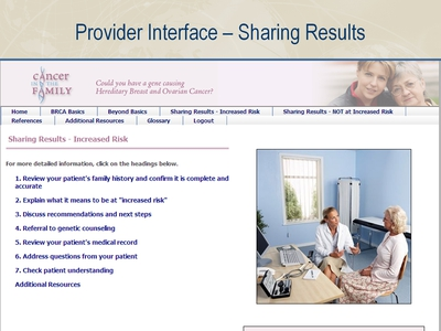 Provider Interface-Sharing Results