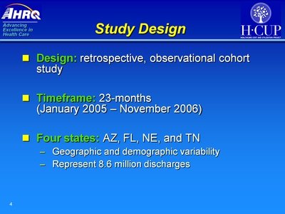 Study Design. Text Description is below the image.