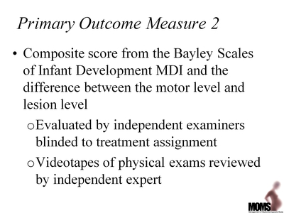 Primary Outcome Measure 2