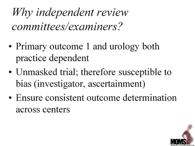 Why Independent Review Committees/Examiners?