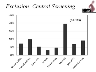 Exclusion: Central Screening