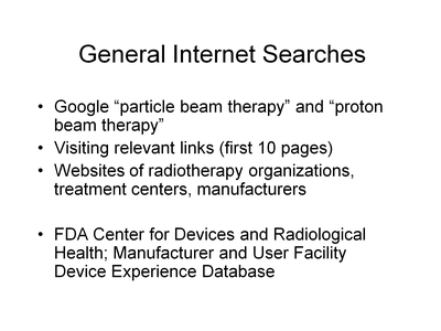 General Internet Searches